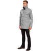 Nau M's Motil Trench Cape Check (057)